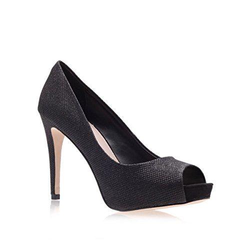 (カーベラ・カート・ジェイガー) Carvela レディース シューズ・靴 カジュアルシューズ Carvela Lara peep toe shoes 並行輸入品  新品【取り寄せ商品のため、お届けまでに2週間前後かかります。】 カラー:Black 素材:-