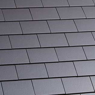 Marley Clay Plain Hawkins Roof Tile Blue Smooth Roof