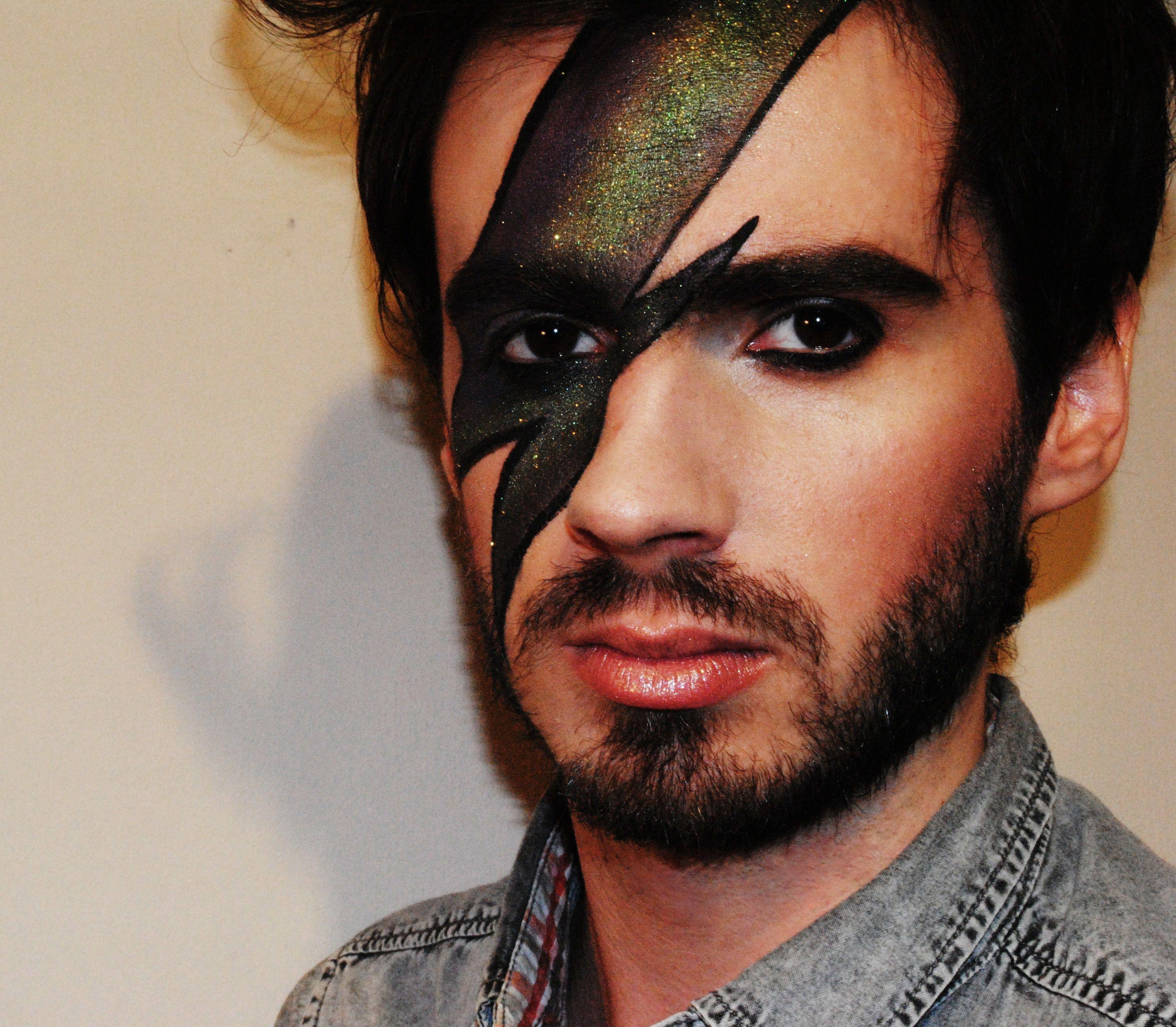 David Bowie Make Up Tutorial Punk Makeup Rock Makeup Punk Rock