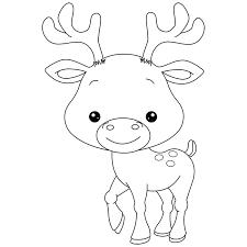Resultat De Recherche D Images Pour Dessin Caribou Coloriage Animaux Dessin Renne Coloriage Bebe
