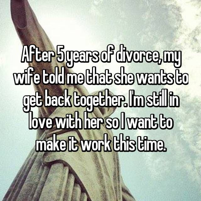 Wife told me she wants a divorce