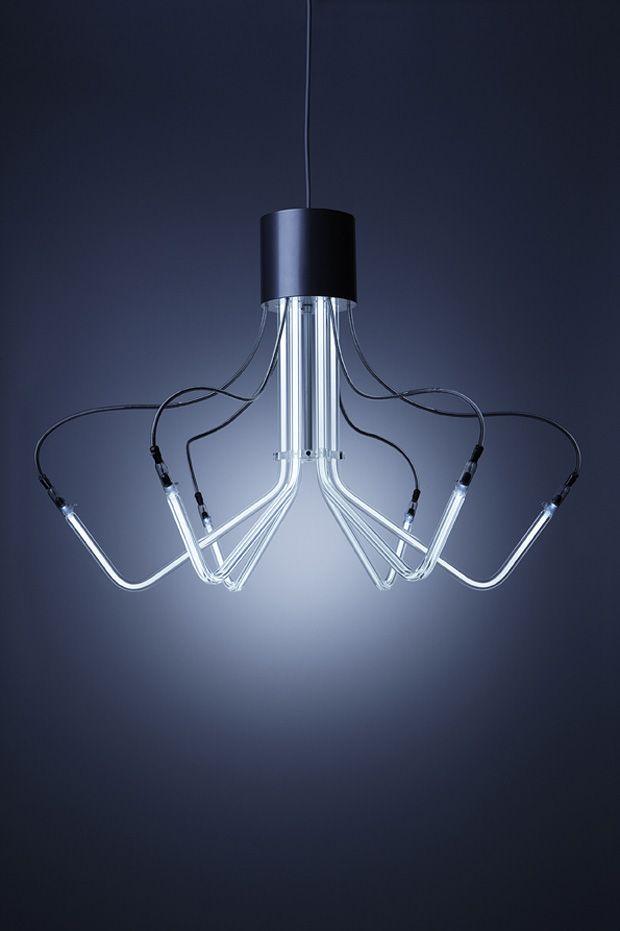NEOLINE Kronleuchter von BOA Design   Boas and Lights
