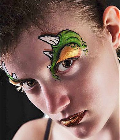 the 25 best dinosaur face painting ideas on pinterest fasching schmink ideen f r kinder boys. Black Bedroom Furniture Sets. Home Design Ideas