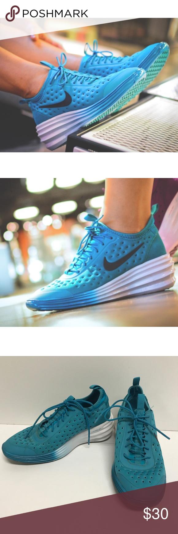 Nike Lunar Elite Sky Hi Wedge Sneakers Nike lunar, Shoes sneakers