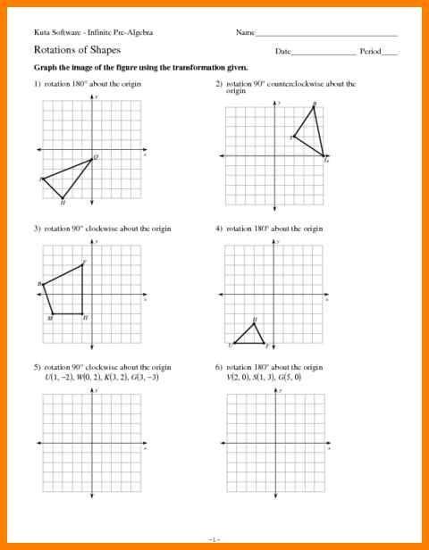 Rotations Worksheet 8th Grade Resultinfos Geometry Worksheets Mathematics Worksheets Gcse Math