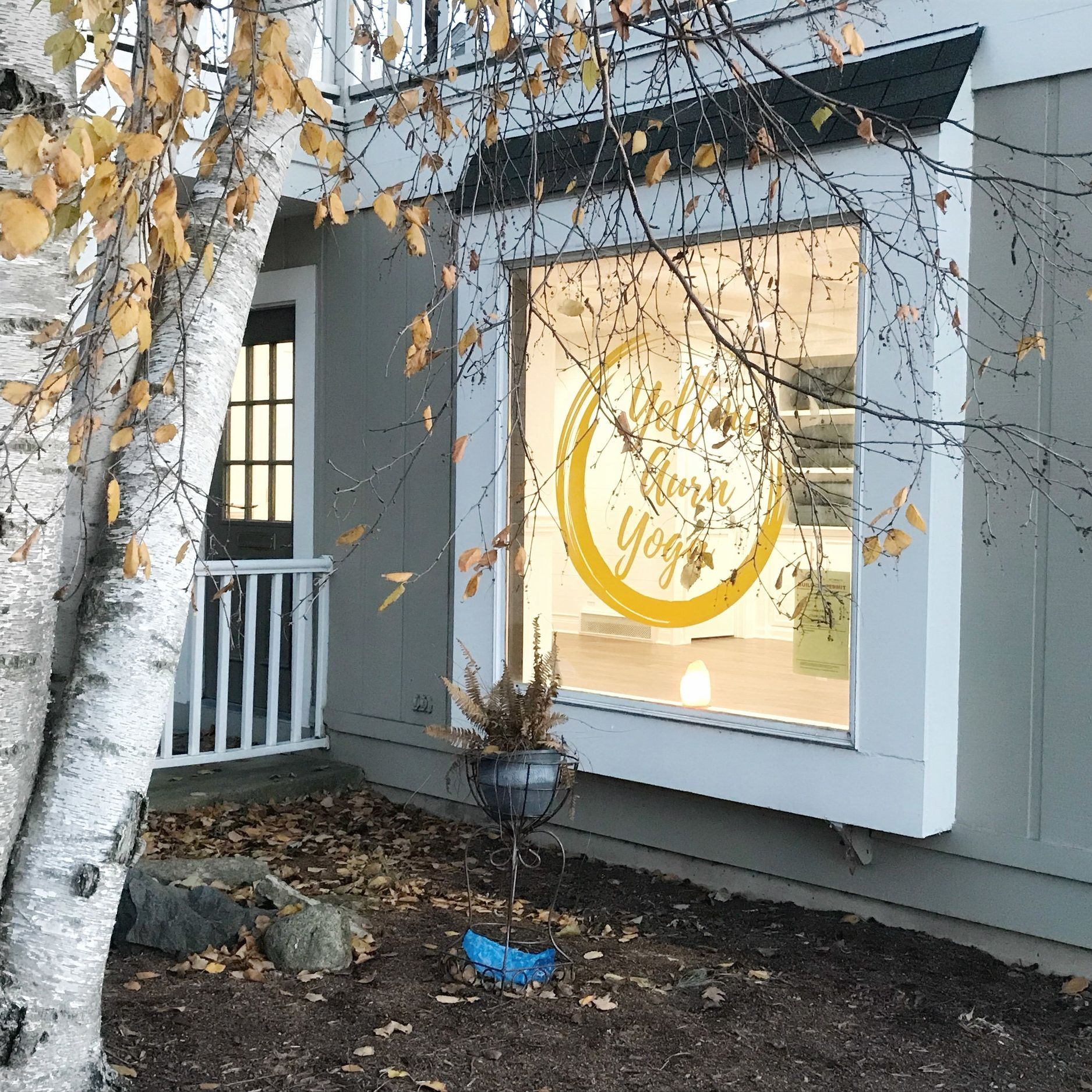 Yellow Aura Yoga in Geneva, IL brings boutique-style yoga classes to the heart of the downtown.