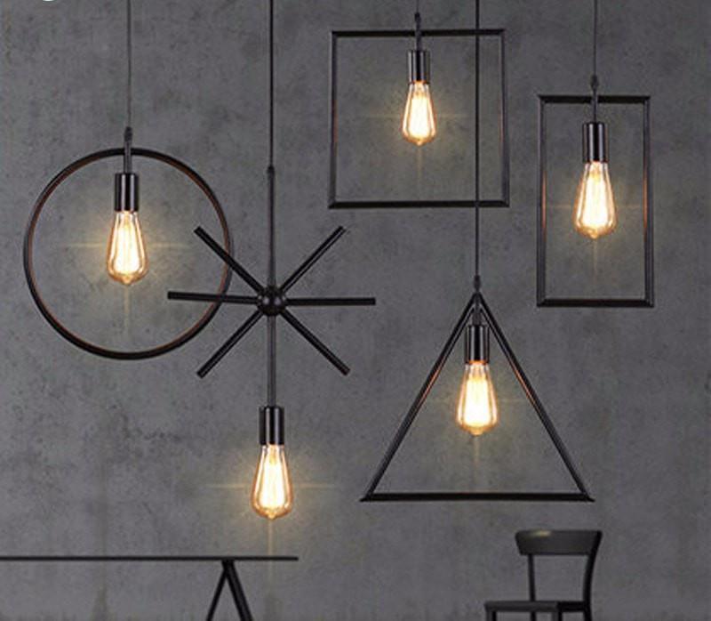 Photo of Iron Pendant Light Simple Creative Lamps Set 5pcs