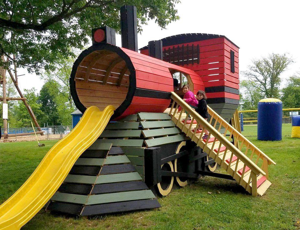 Klettergerüst Diy : Pin von pauls playhouses auf customer photos