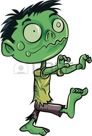 Cartoon Cute Zombie Isolated Cute Zombie Zombie Cartoon Cartoon Drawings