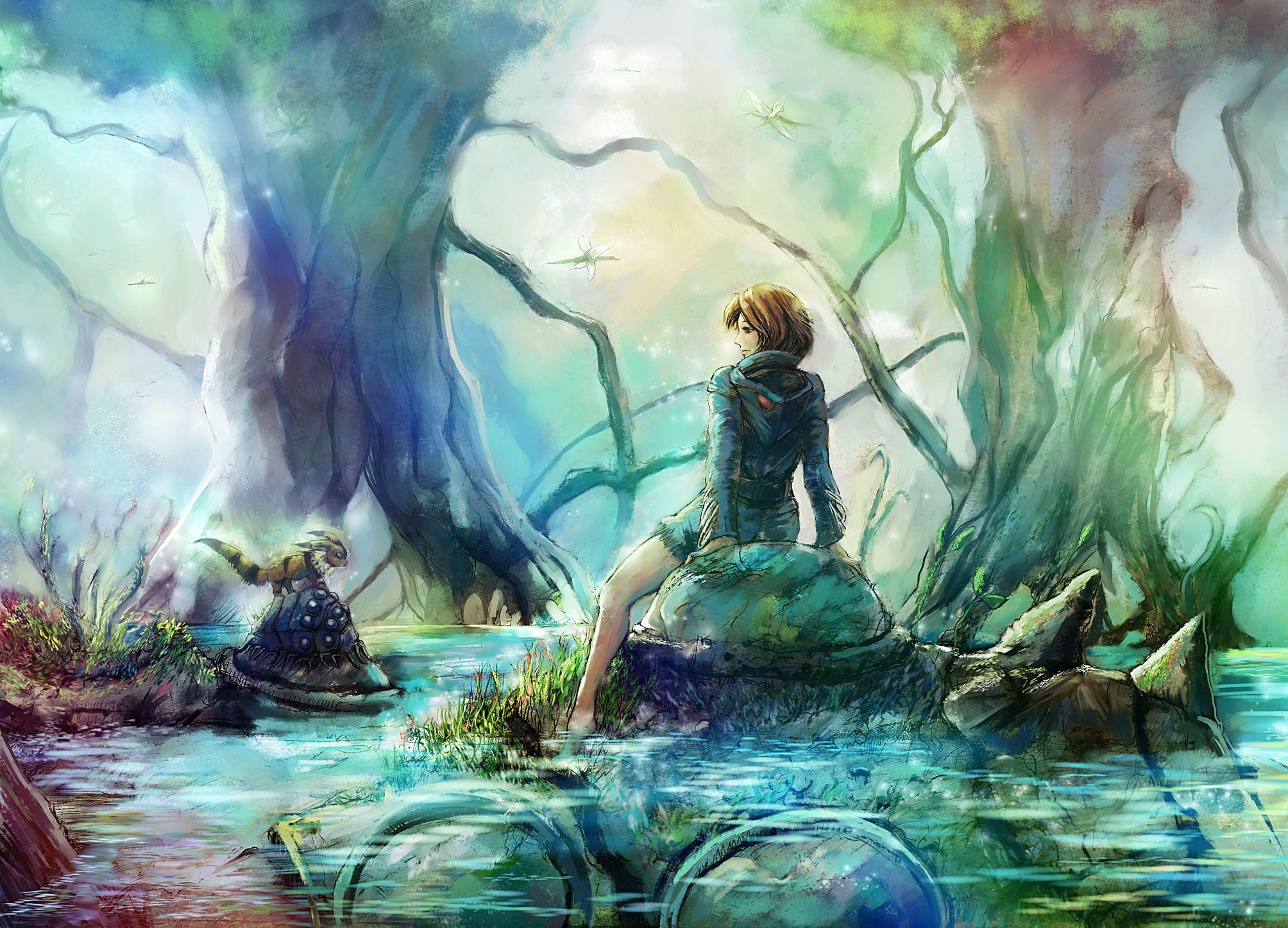 Nausicaa Studio ghibli fanart, Ghibli