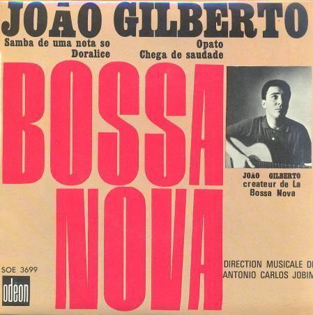 Vinilo De 45 Rpm Odeon Soe 3699 Samba De Uma Nota So