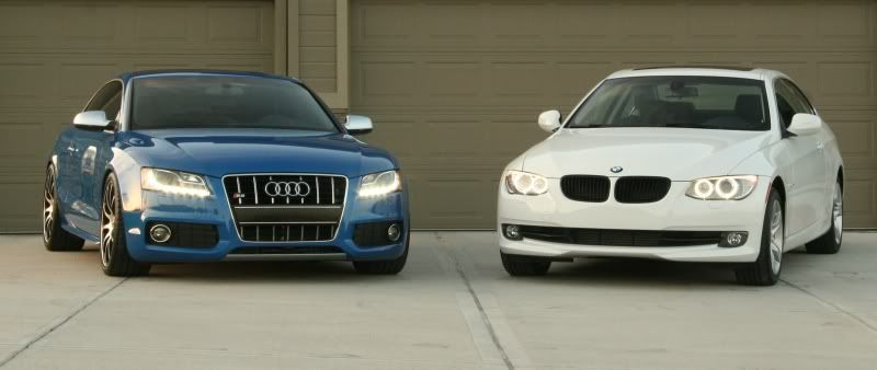 S5 and 335I in the same garage… Hope they don't fight! (pics) - Audi A5 Forum & Audi S5 Forum
