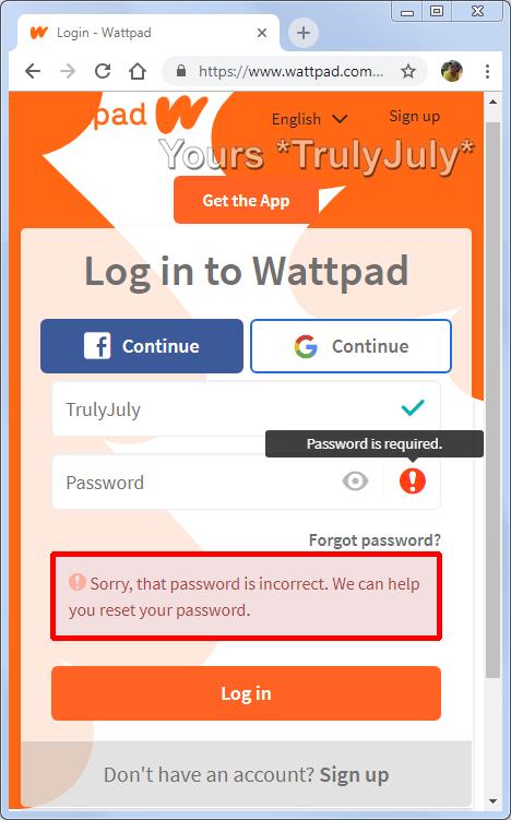 Good Practice Tip Specific Login Feedback App log