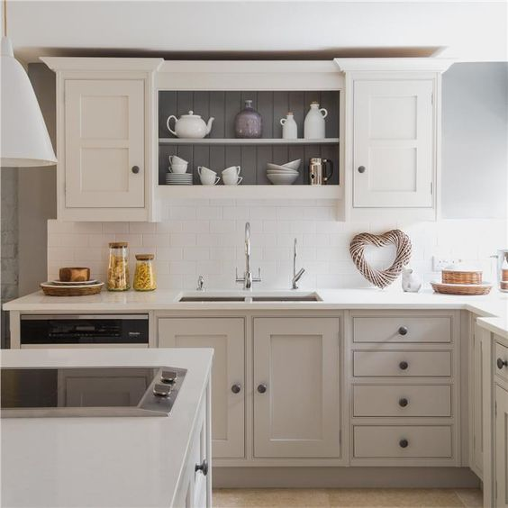 Farrow And Ball Kitchen Cabinets: Farrow And Ball Pavilion Grey And Manor House Grey