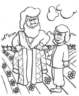 Old Testament Hebrew Jewish Bible Kids Coloring Pages Free