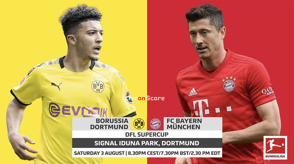 Borussia Dortmund Vs Bayern Munich Supercup Line Ups Stats And Live Blog Allsportsnews Football News Worldfootballn Borussia Dortmund Bayern Dortmund