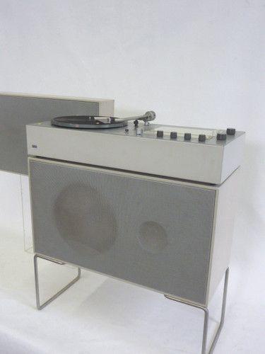 Braun TS 45/1 + Ps 400x (audio 2) L 50 mit seltenen Füßen + L 46   Dieter Rams  Want!