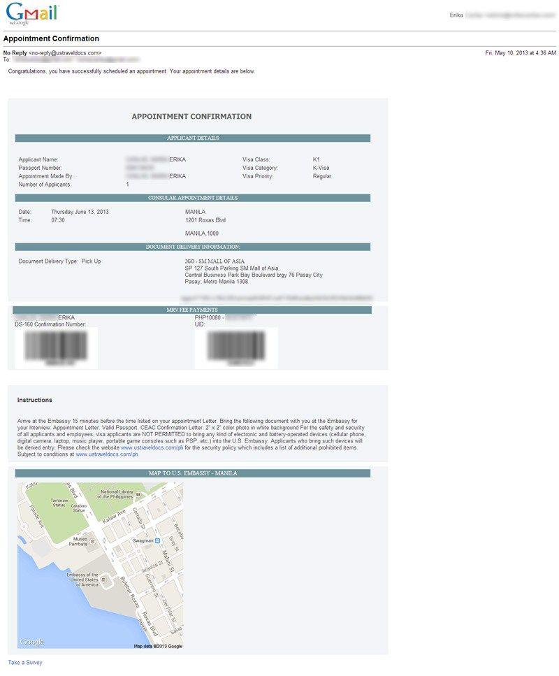 how schedule your visa interview online life mrs presson sample - immigration sponsorship letter