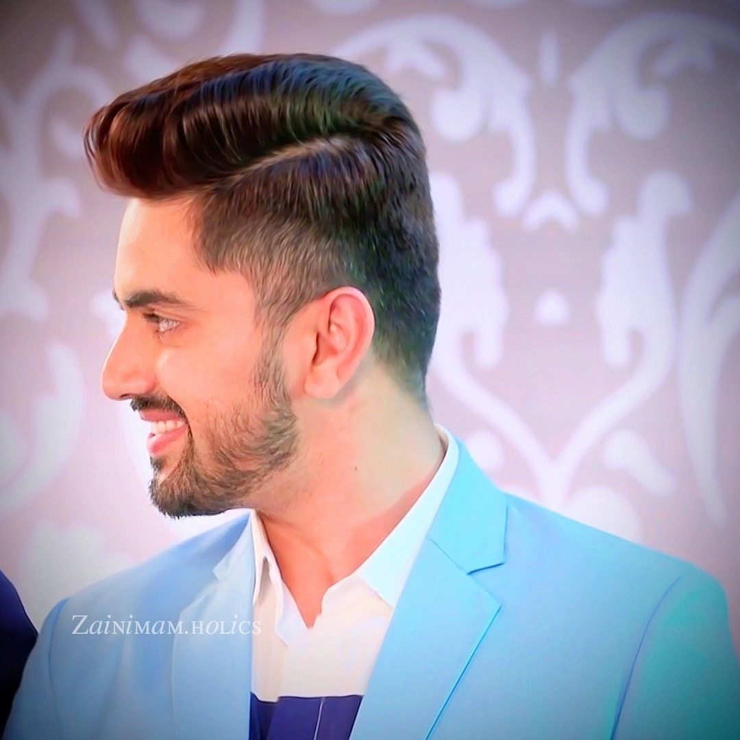 zain imam hairstyle back side | hair styles, thick hair styles