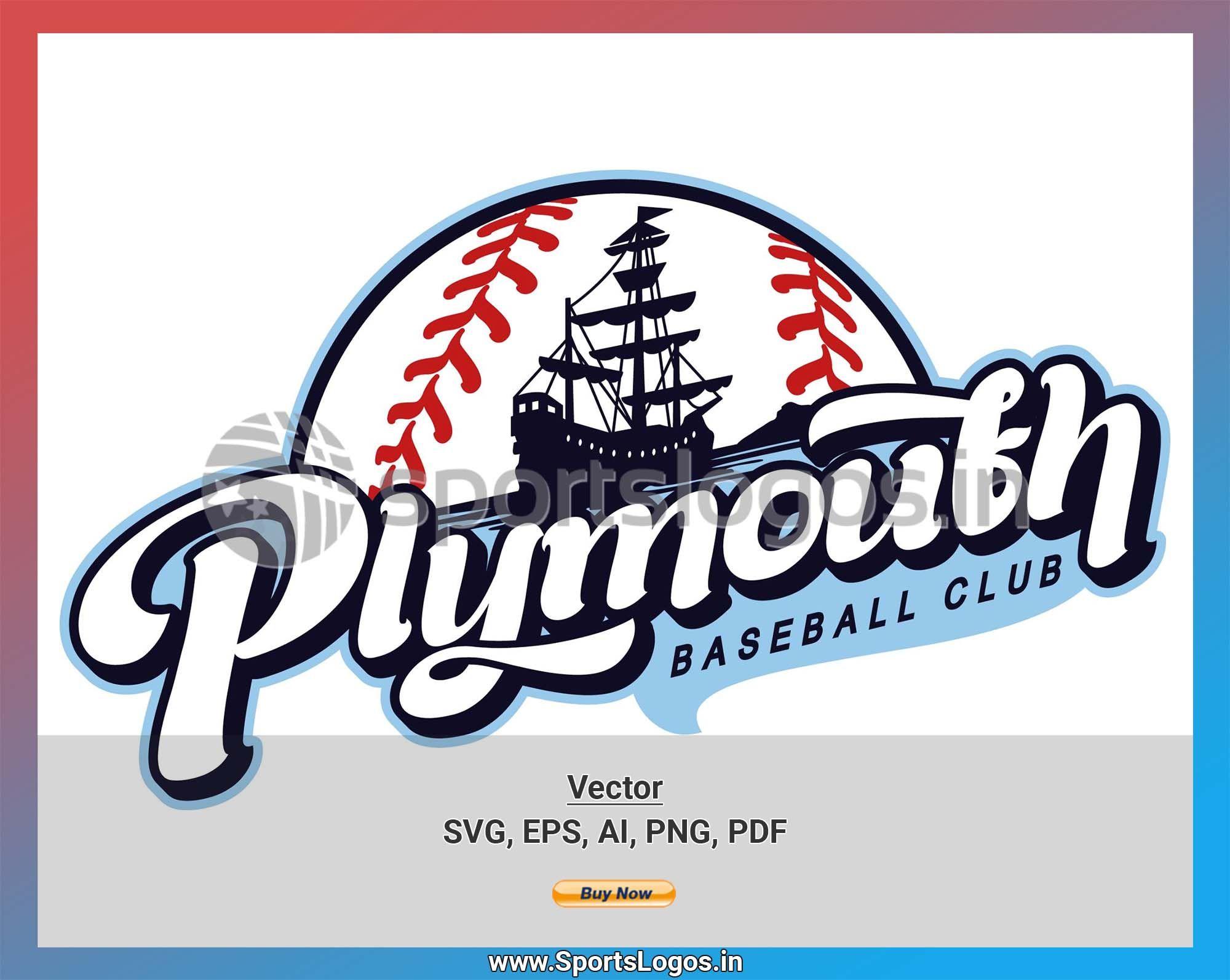 Plymouth Pilgrims 2013 New England Collegiate Baseball League Baseball Sports Vector Svg Cricut Logo Spln003463 Sports Baseball Vector Svg Baseball League
