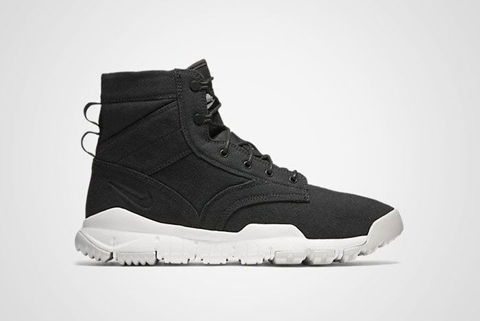 "Nike's rough and ready tactical boot SFB Field 6"" Canvas was inspired by co-founder Bill Bowerman's service during World War II."