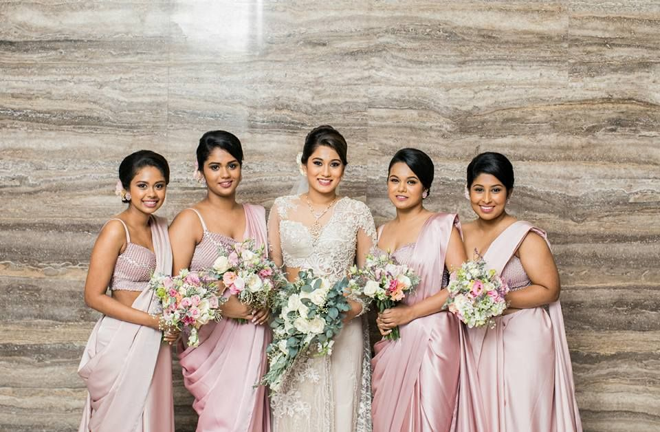 Bridal Party Designed And Created By Indi Yapa
