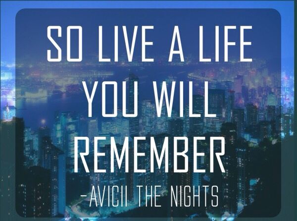 Avicii - The Nights Instaquote | How to Sing Better and ...