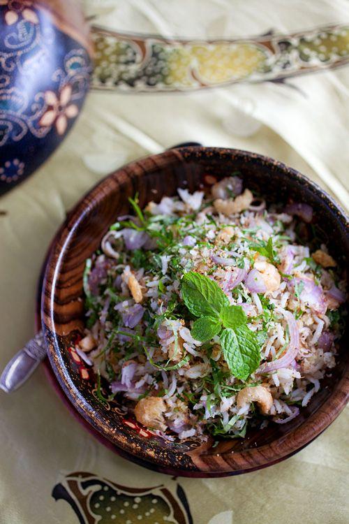Nasi Ulam Malaysian Mixed Herb Rice Recipes Malaysian Food Malay Food