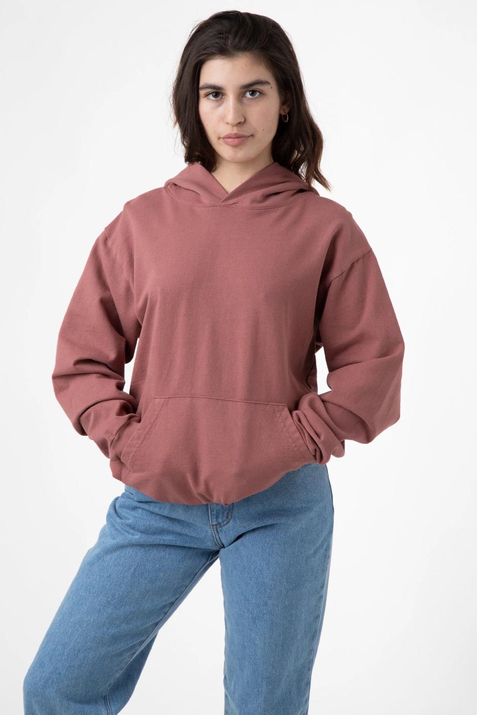 Hf16gd Garment Dye 14oz Cropped Heavy Fleece Zip Up Hooded Sweatshirt Hooded Sweatshirts Garment Dye Hooded Sweatshirts Outfit