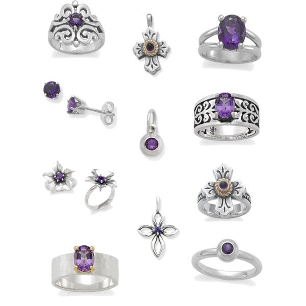 c5994828e6845 Amethyst Collection from James Avery | accessories | James avery ...