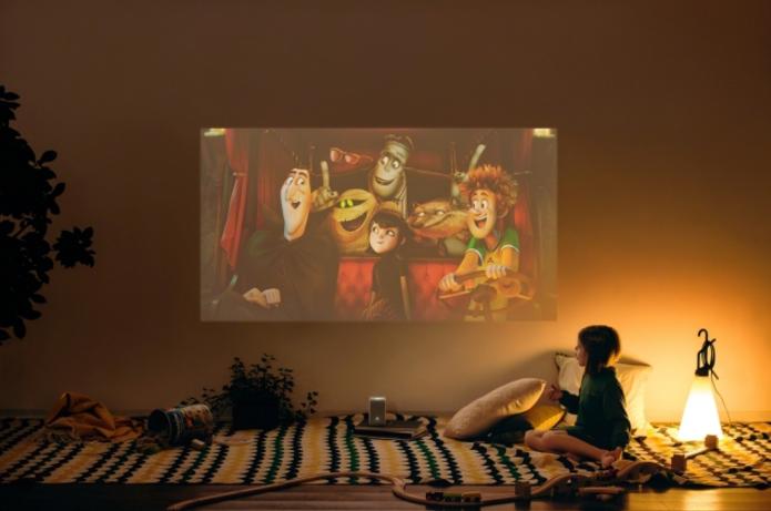 おうちがまるで映画館 小型プロジェク 子供部屋のデコレーション