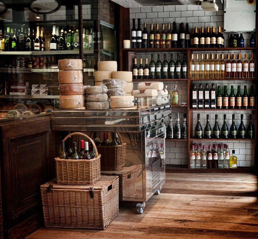 Iberica s delicatessen el colmado has a vast range of for Tiendas de muebles para restaurantes