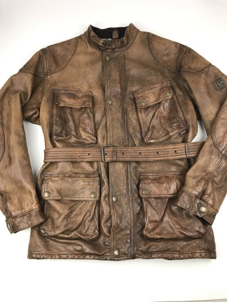 Details About Mark Wahlberg Contraband Jacket In Vintage Brown For