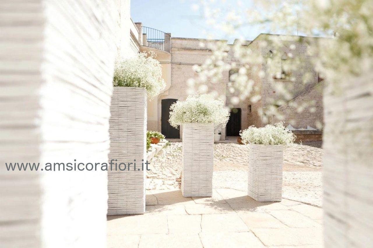 Matrimonio Rustico Brescia : Amsicora allestimenti matrimonio rustico ingresso chiesa