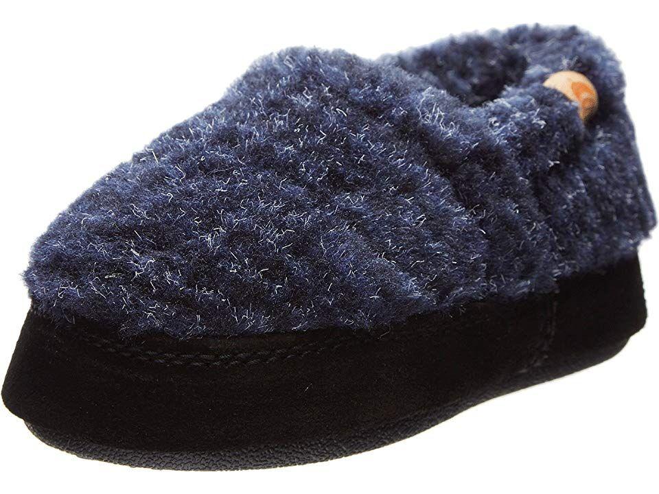 17c483f99c98 Acorn Kids Acorn Moc (Toddler Little Kid Big Kid) Boy s Shoes Blue Check
