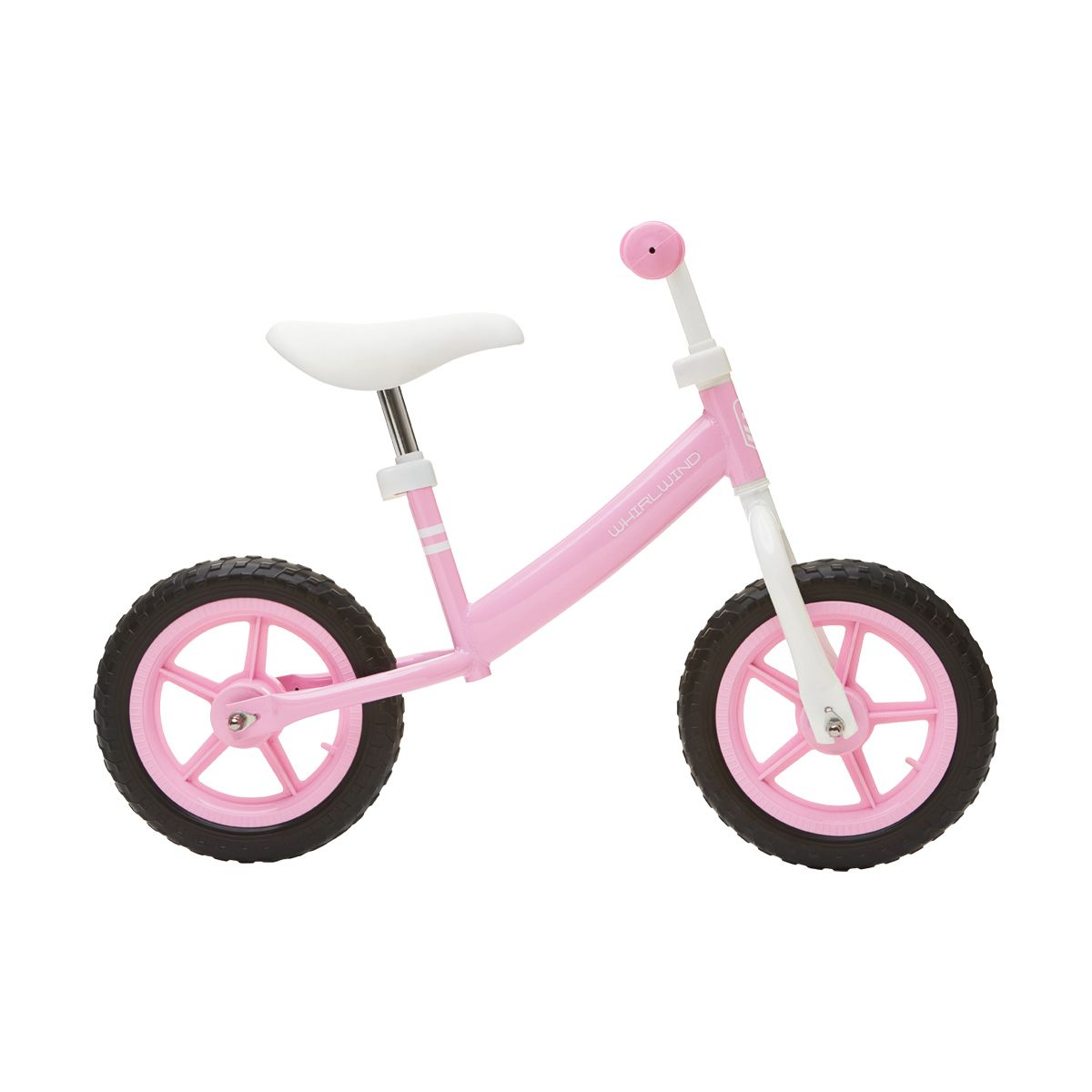 Pink 28cm Whirlwind Balance Bike Kmart Outdoor Toys For Kids