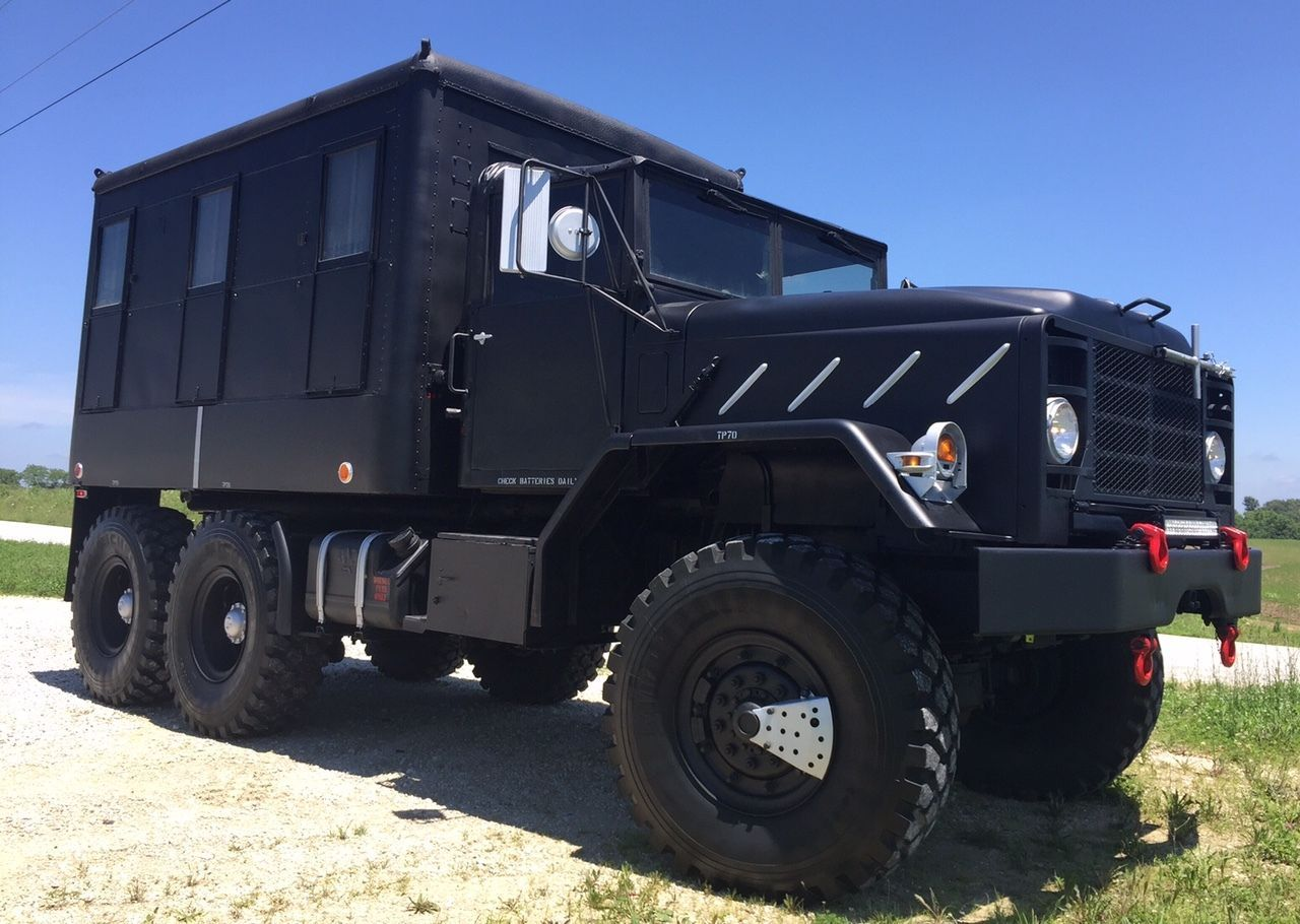Custom Built Travel Trailers >> 1990 BMY M931a2 Custom Built Camper | Overland vehicles, Bug out vehicle