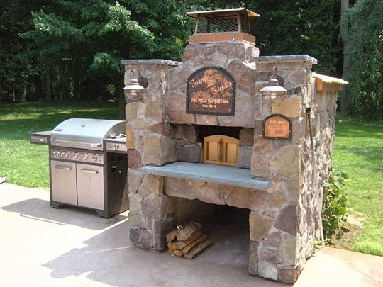 Iu0027d Love To Have An Outdoor Oven Like This! Imagine The Hearth Breads