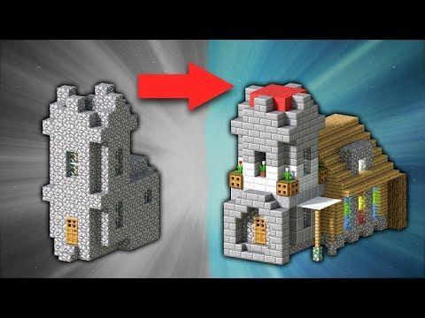 (57) How to Transform a Village Church | Minecraft - YouTube