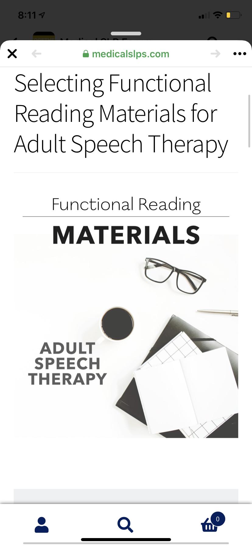 Functional Reading Bundle Medical Slps Speech Therapy Materials Reading Bundle Speech Therapy [ 1792 x 828 Pixel ]
