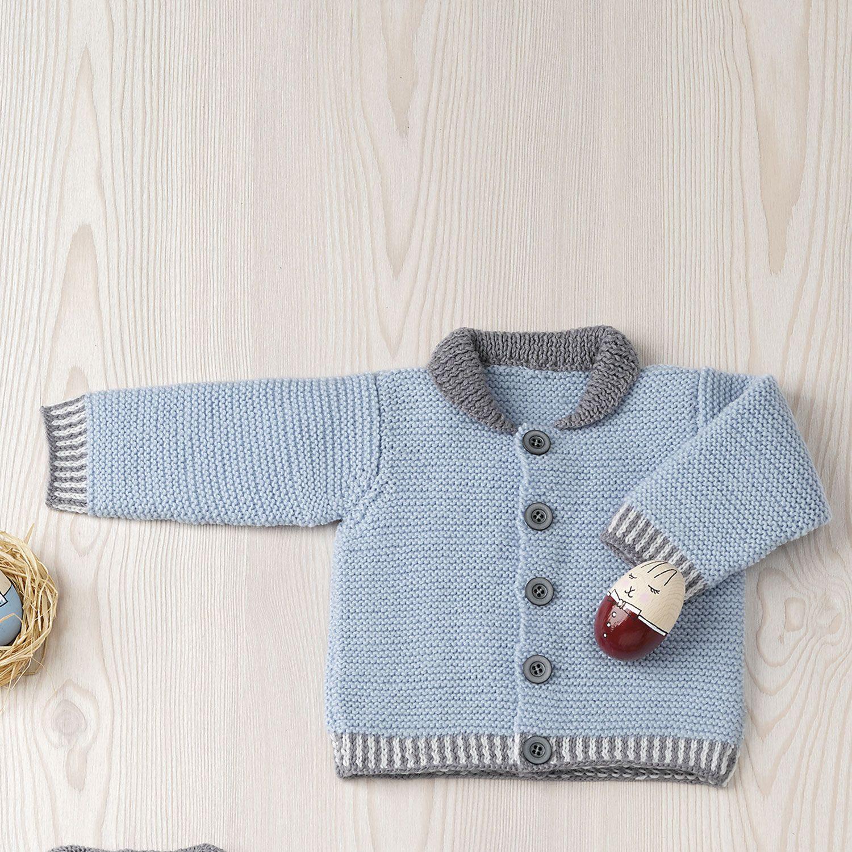 Herbst Winter Modelle Anleitungen Katia Com Baby Jacke Strickjacke Baby Jacke Stricken