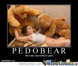 Pedobear is real, and comes in pairs!