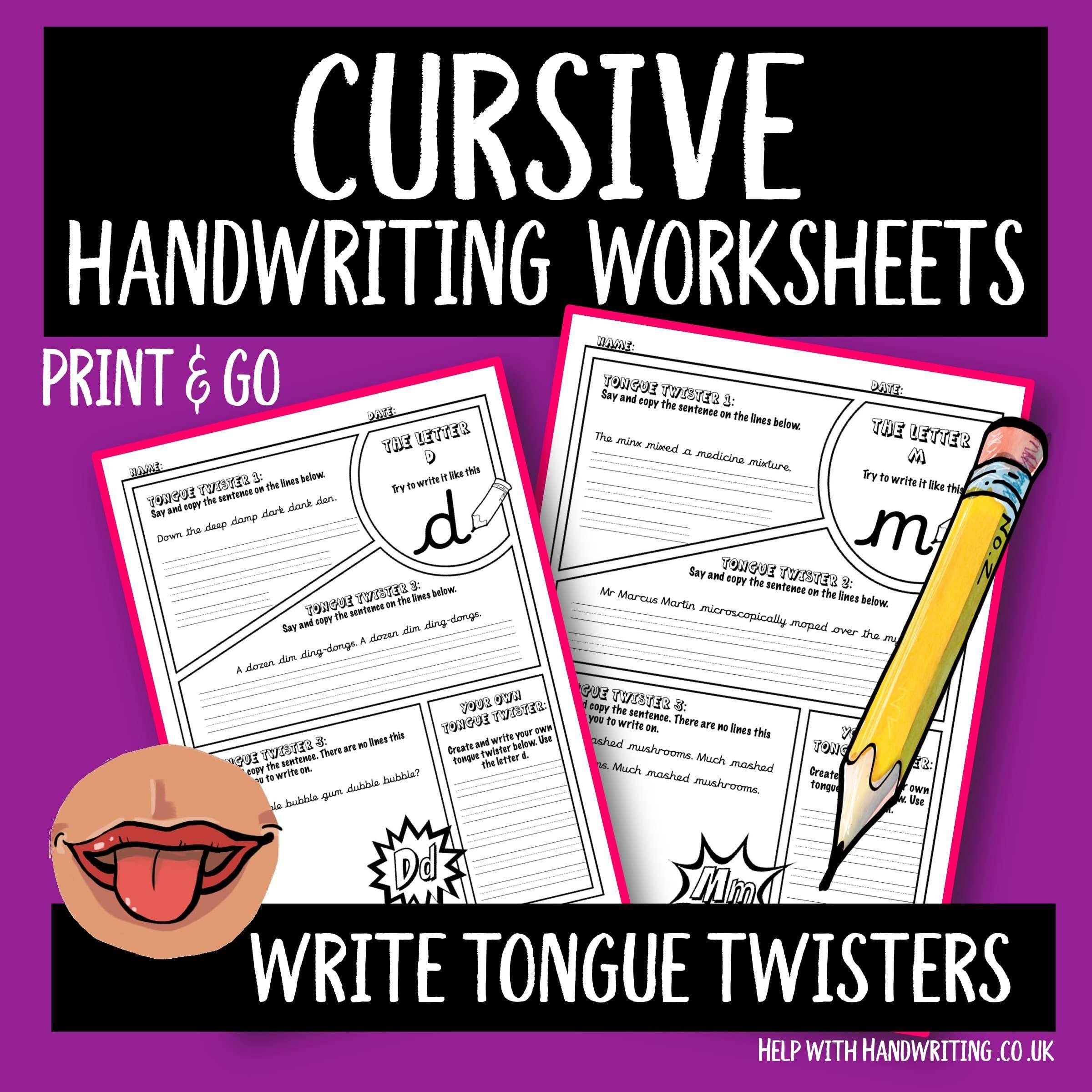 Cursive Writing Worksheets Cursive Alphabet Letter N In