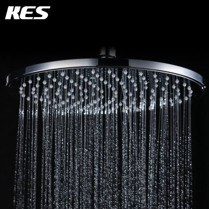 KES J309 Showering Replacement 10-Inch Shower Head Fixed Mount Extra ...