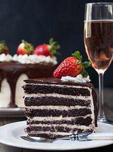Рецепт вкусного шоколадного торта с заварным кремом