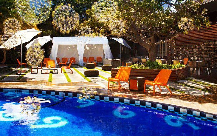 Phoenix Hotel (601 Eddy at Larkin) has a pool in the city?!