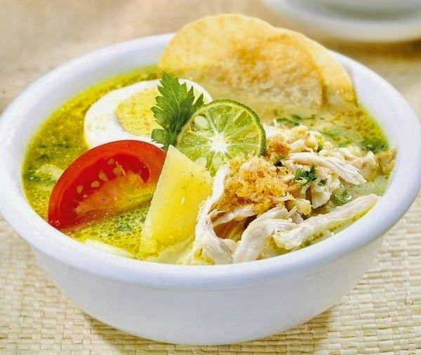 Resep Cara Membuat Soto Ayam Resep Masakan Masakan Resep