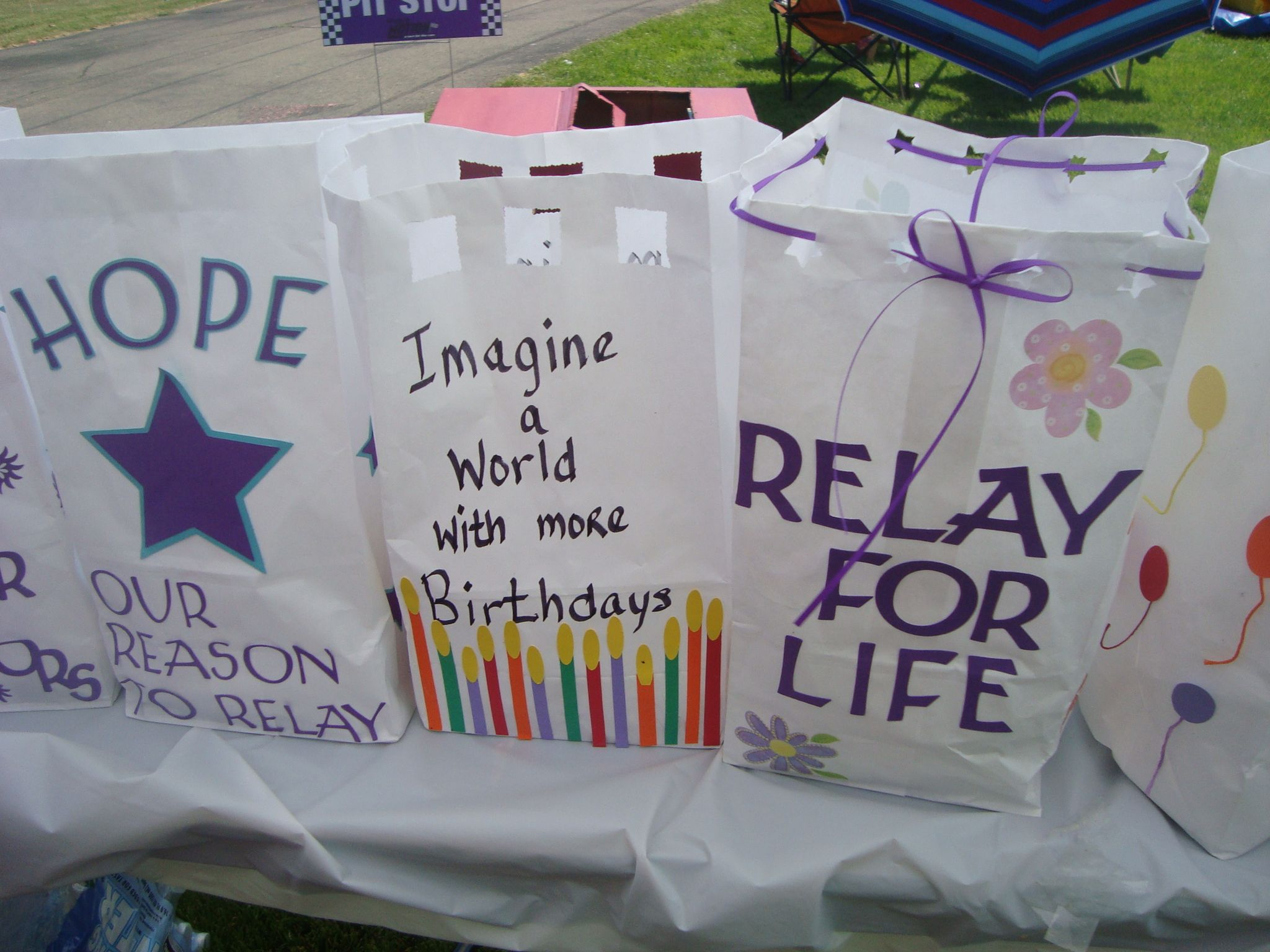 Luminaria Bags Relay For Life Relay Fundraising Events