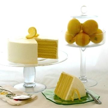 Seven Layer Lemon Cake