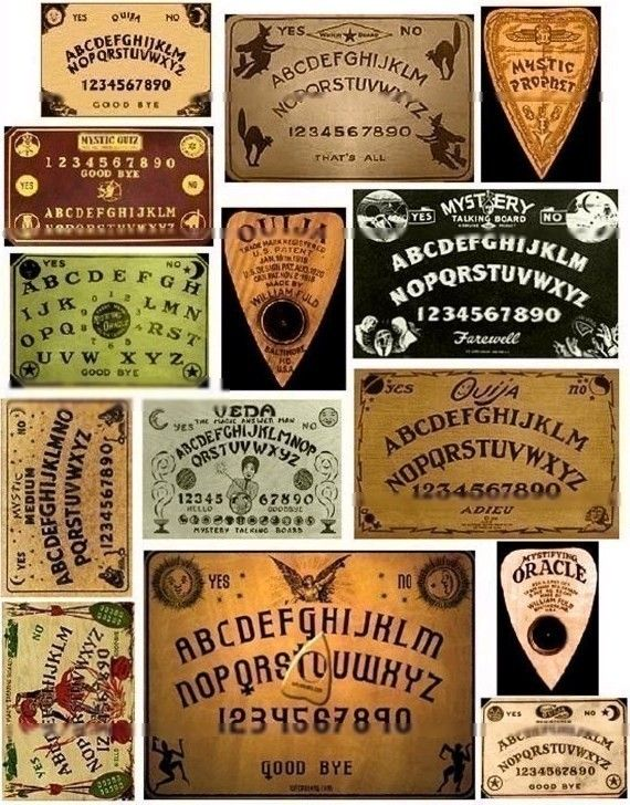 how to build a ouija board